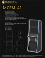 MCFM-41 Best dual gaming slot cabinet for casino