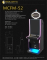 MCFM-52 Multi touch metal slot machine