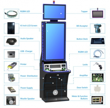 MCFM-55-43inch vertical type gaming machine