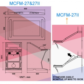 MCFM-27II DUAL SLANT TOP MACHINE