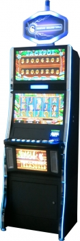 "23"" SLOT MACHINE WITH R.G.B FLASHING LIGHT"