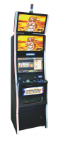 "MCFM-46-Hot sale 23"" two screen upright casino game machine"